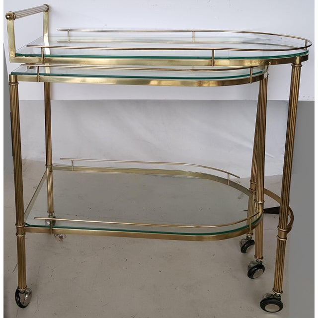 Vintage Italian Bar Cart - Image 3 of 9