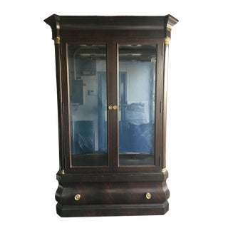 Henredon Custom Finish China Cabinet For Sale