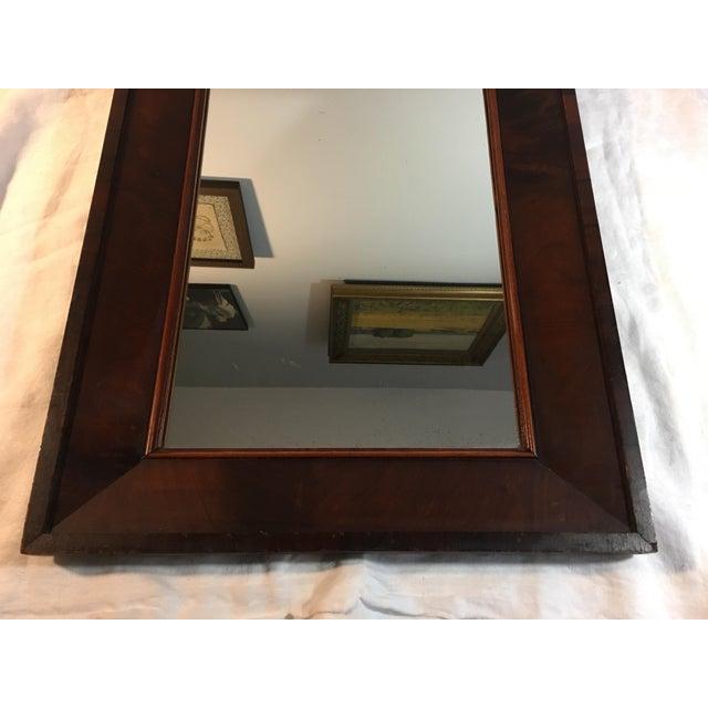 Antique Mahogany Mirror - Image 5 of 7
