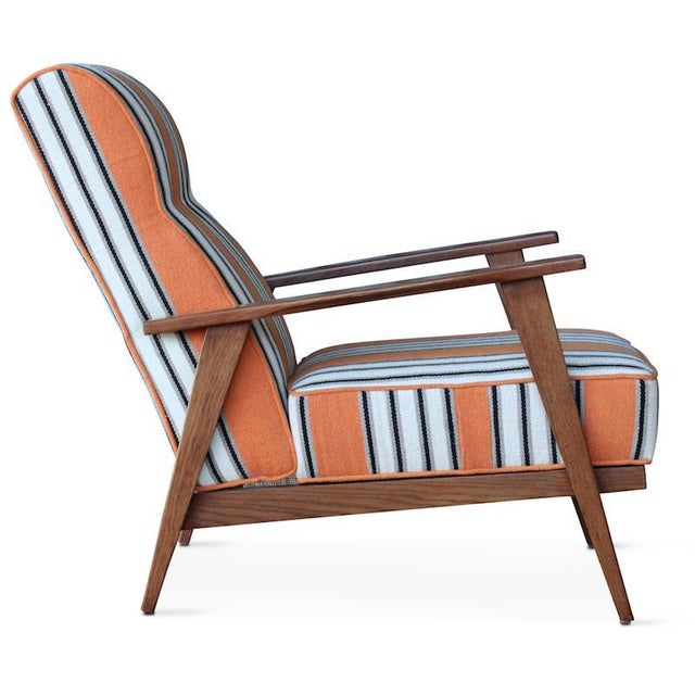 Mid-Century Modern Hollister Armchair For Sale - Image 3 of 6