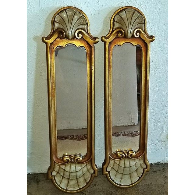Early 20c Pair of Pier Mirrors by Thorvald Strom For Sale - Image 10 of 14