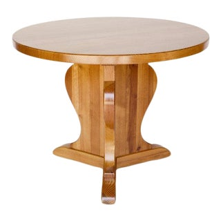 Axel Einar Hjorth Pedestal Table for Nordiska Kompaniet C. 1932 For Sale