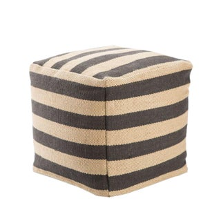 Modern Mason Jute Pouf For Sale