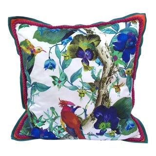 Osborne and Little Tropical Fabric Pillow