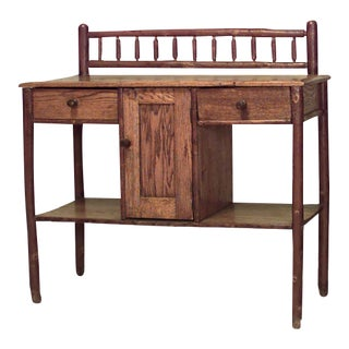 American Rustic Old Hickory Sideboard Cabinet For Sale