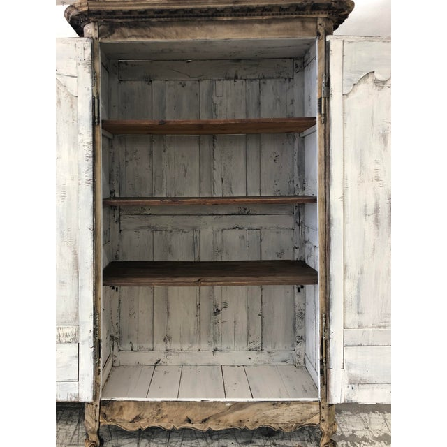 Metal 18th. C. French Renaissance Carved Armoire For Sale - Image 7 of 13