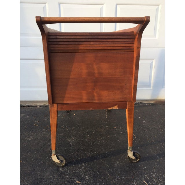 Mid-Century Modern Bar Cart - Image 5 of 9