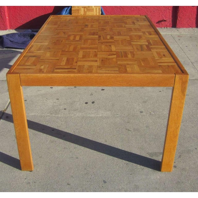 Parquet-Top Parsons Table - Image 4 of 6