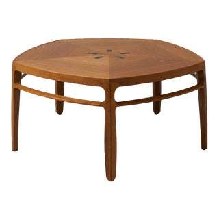 edward wormley Janus series coffee table for Dunbar For Sale