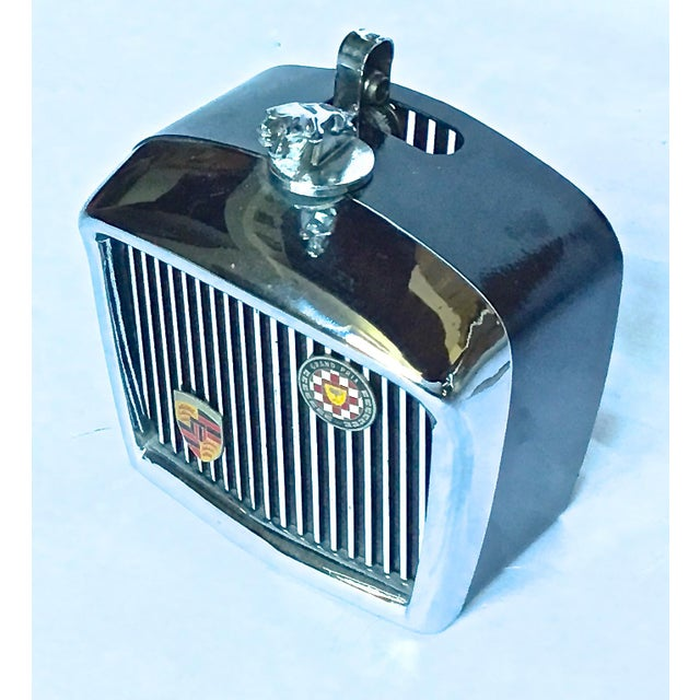 Art Deco Vintage Jaguar Grill Novelty Lighter For Sale - Image 3 of 7