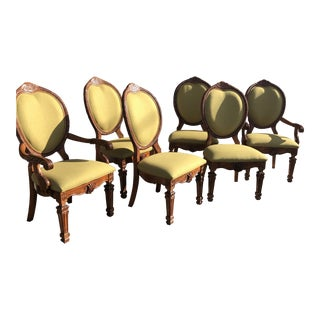 Ferguson Copeland Dining Chairs - Set of 6 For Sale