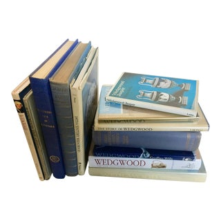 Wedgwood Ceramics History Books - Set of 12 For Sale