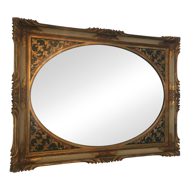 Vintage Ornate Mirror - Image 1 of 7