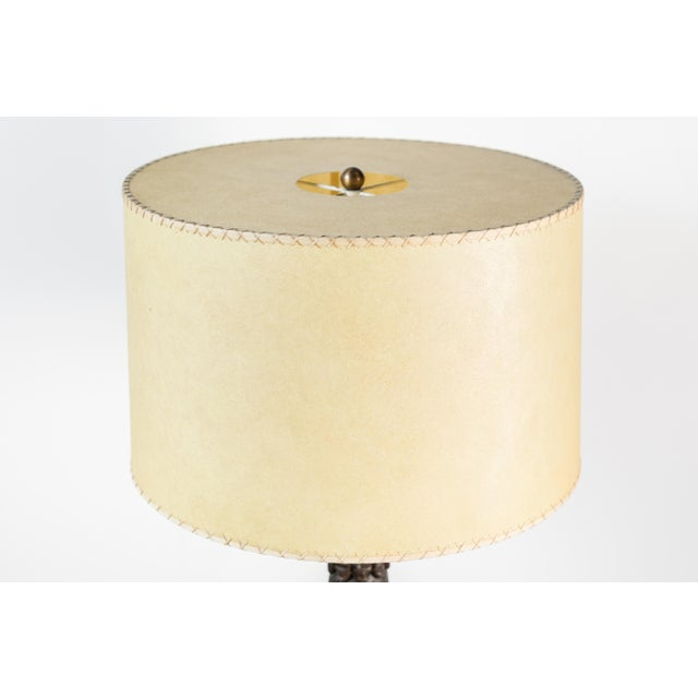 French African Floor Lamp For Sale - Image 9 of 10