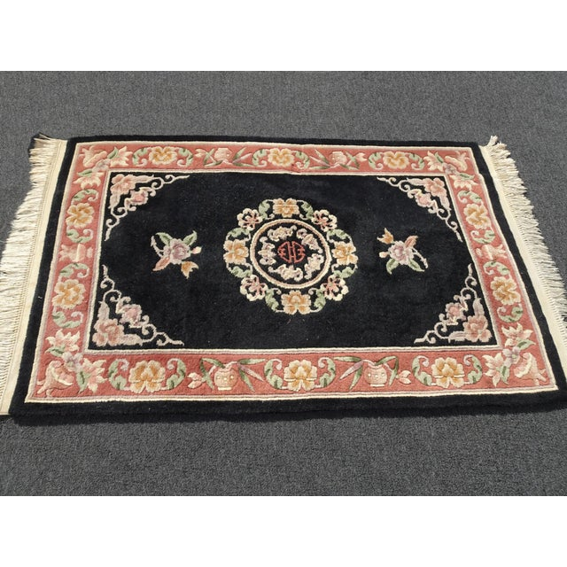 Gorgeous Rug in Great Vintage Condition. Wear is usual for its age. Please see photos. Overall a Gorgeous Rug that you...