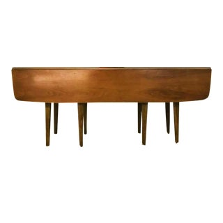 1950s Mid-Century Modern Drexel Walnut Sofa Table