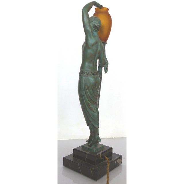 Art Deco Sculpture by Pierre LeFaguay For Sale In Miami - Image 6 of 10