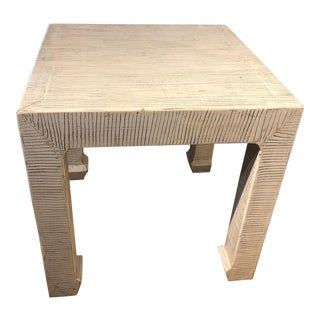 Zebra Side/End Table For Sale
