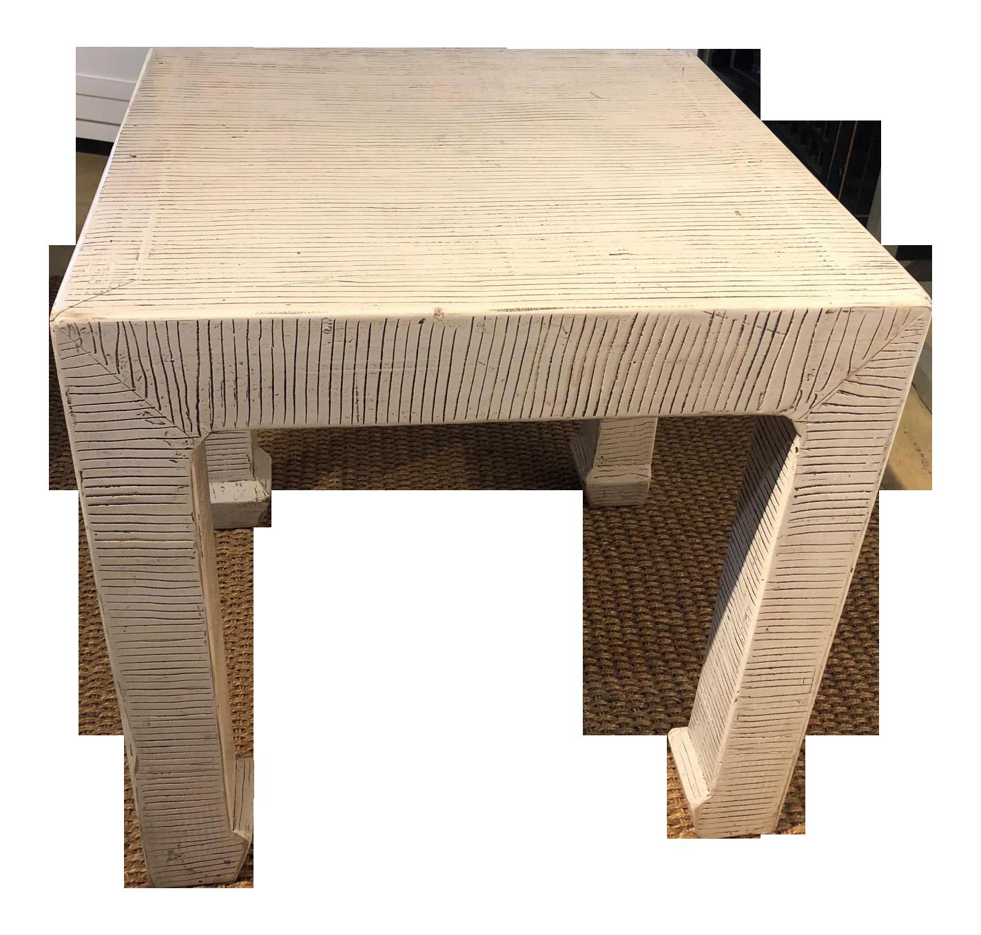 Zebra Side/End Table For Sale