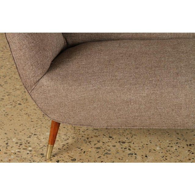 Five Leg Butterfly Settee For Sale - Image 4 of 5
