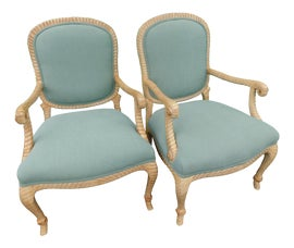 Image of Bedroom Bergere Chairs