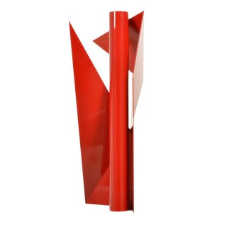 Alas 2 Geometric Sculpture by Betty Gold For Sale
