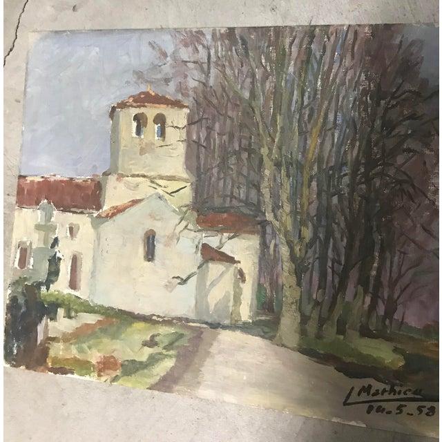 French Provincial Vintage Landscape - Image 2 of 5