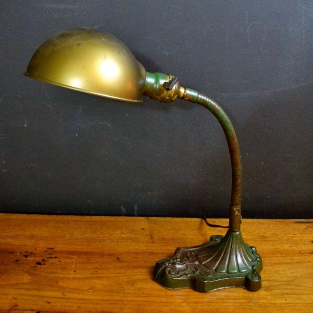 Vintage Industrial Desk Lamp - Image 2 of 7
