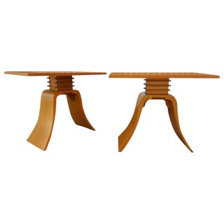 "Paul Frankl ""Bell"" End Tables"