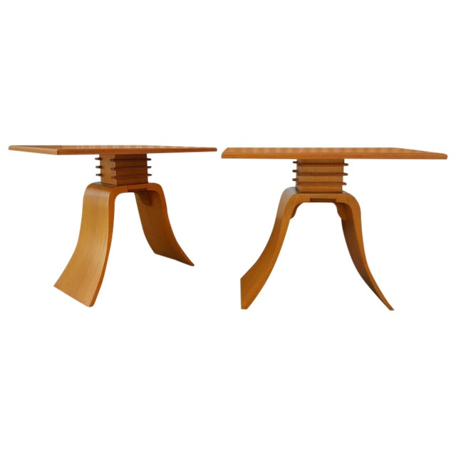 "Paul Frankl ""Bell"" End Tables For Sale"