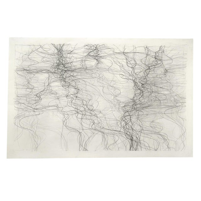 """Margaret Neill """"Prospectus 1"""" Drawing For Sale"""