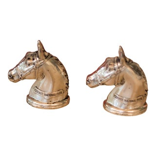 Vintage Horse Head Stallion Salt & Pepper Shakers