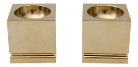 Image of West Palm Candle Holders
