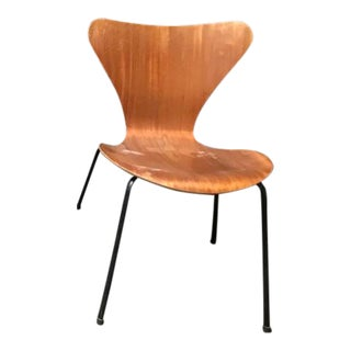 1960s Vintage Arne Jacobsen Series 7 Chair For Sale
