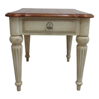 Ethan Allen Country French Lamp Table For Sale