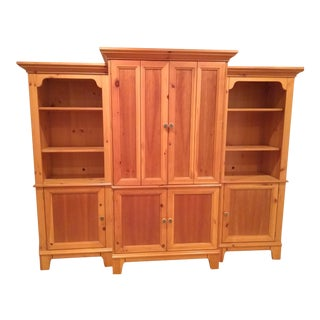 Lane American Cherry & Pine Entertainment Center