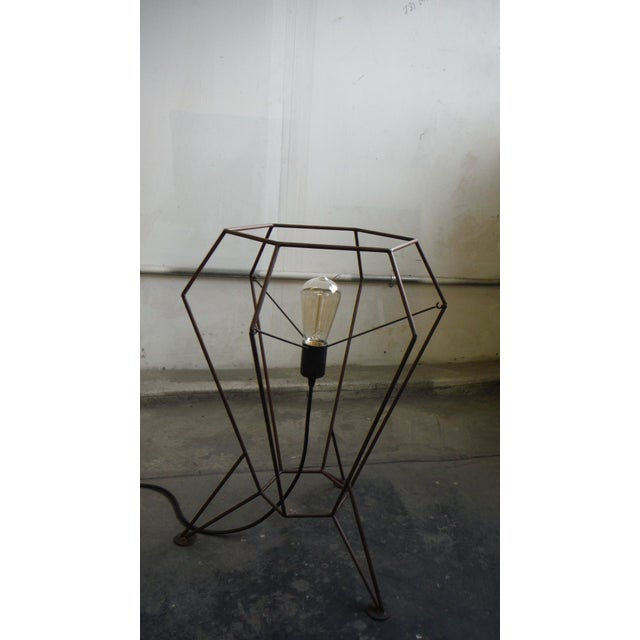 2010s Steel Rod V1 Table Lamp For Sale - Image 5 of 6