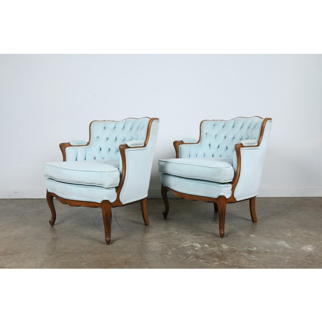 Italian-Style Chairs in Baby Blue - A Pair - Image 2 of 11