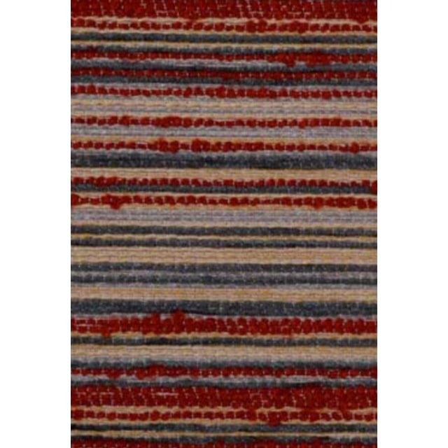 B. Berger Red Stripe Chenille - 5 Yards - Image 1 of 2