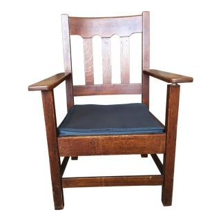 1950s Arts and Crafts Frederick Loeser and Company Side Chair