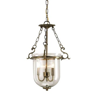 Currey & Co. Athena Brass Lantern For Sale