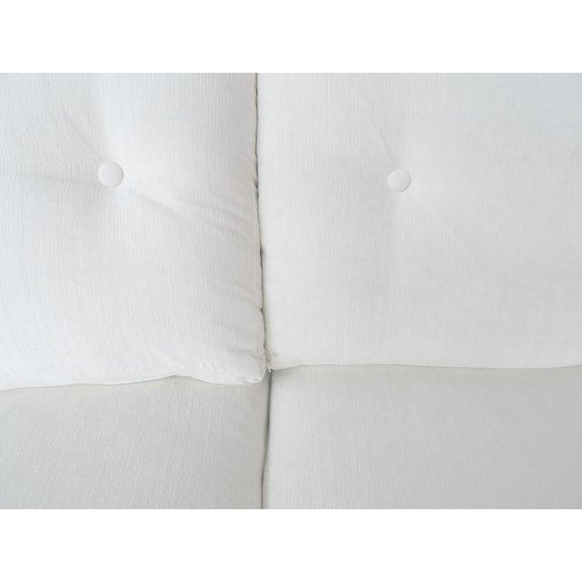 White Danish Modern Sofa by Johannes Andersen - Image 7 of 10