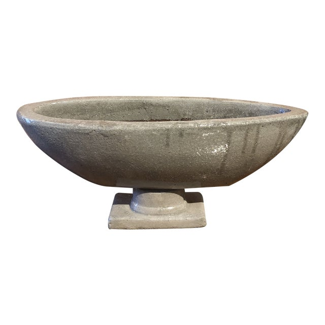 Boat Shaped Table Top Urn For Sale