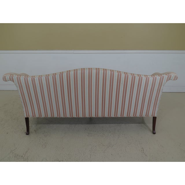 Modern Southwood Ball & Claw Chippendale Upholstered Sofa For Sale - Image 9 of 13