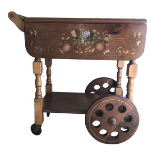 Gardner Inc. Limited Edition #509 Tea Cart For Sale