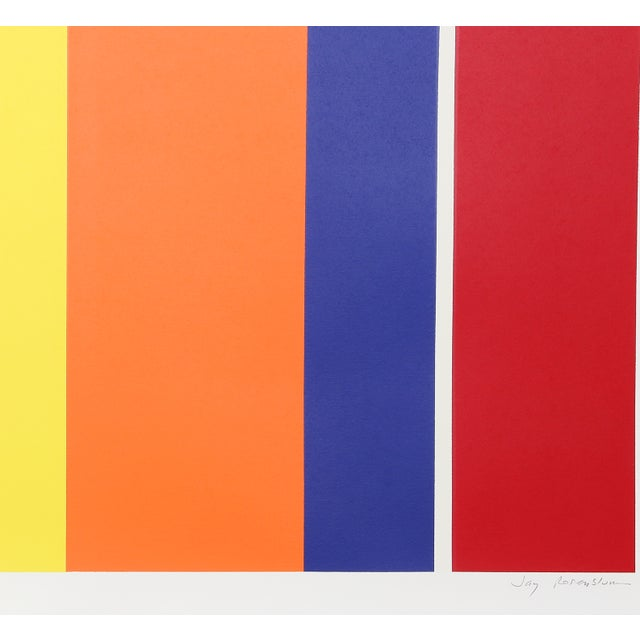 Artist: Jay Rosenblum, American (1933 - 1989)<br>Title: Groove<br>Year: 1981<br>Medium: Serigraph, signed and numbered in...