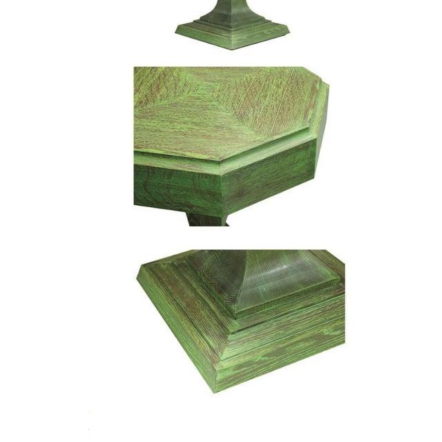 "Truex American Furniture Light Oak ""Rook"" Side Table - Image 2 of 2"