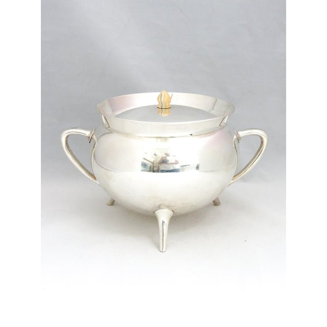 Silver Mid Century Walker & Hall Silver Soup Tureen For Sale - Image 8 of 8
