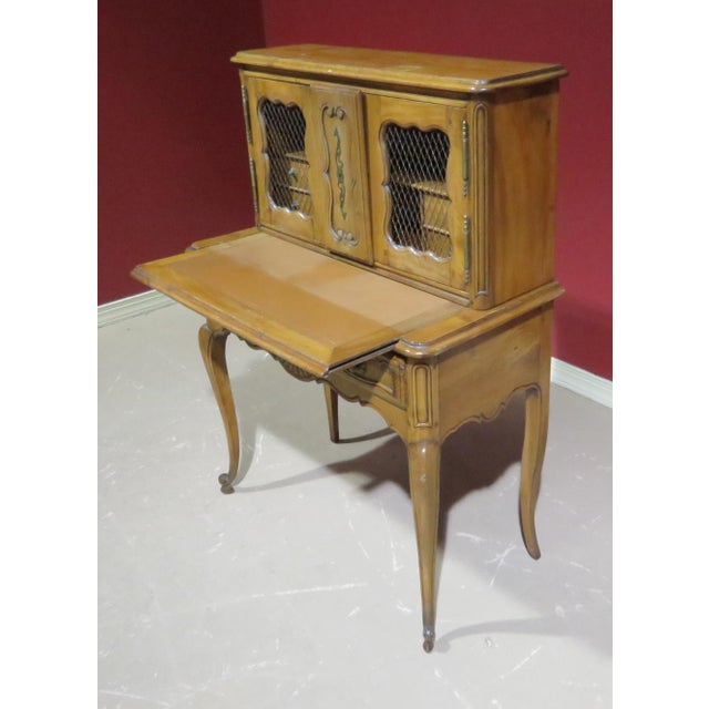 Wood 19th C. Country French Writing Desk For Sale - Image 7 of 13
