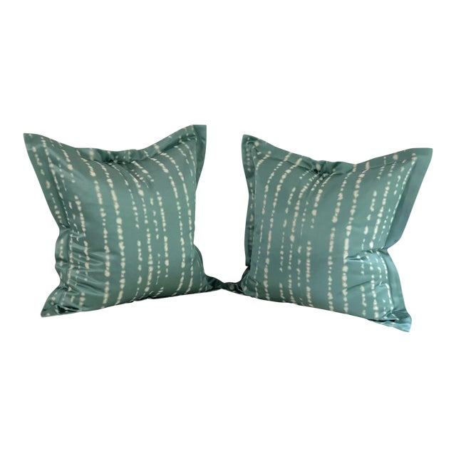 """Pair of 24"""" Jim Thompson Pillows For Sale"""